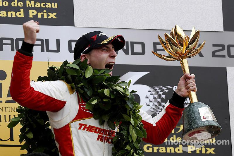 2013: 1. Alex Lynn, 2. Antonio Felix da Costa, 3. Pipo Derani