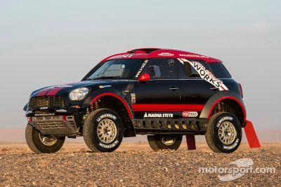 X-Raid Mini Dakar presentation