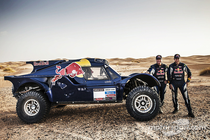 Carlos Sainz en Timo Gottschalk, Red Bull SMG Rally Team