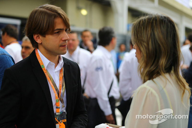 Augusto Farfus en de vrouw van Felipe Massa, Ferrari