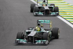 Nico Rosberg, Mercedes AMG F1 W04 y Lewis Hamilton, Mercedes AMG F1 W04