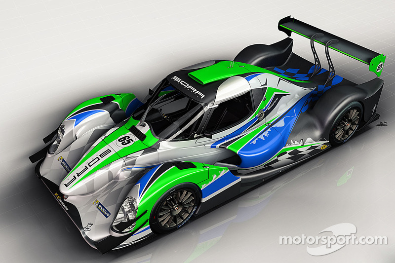 The Pescarolo 02 Coupe to be raced in LM P3
