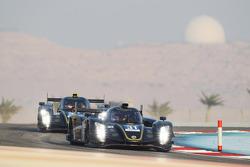 Витантонио Льюцци, Кевин Уида и Лукас Ауэр. Бахрейн, первая тренировка в четверг.