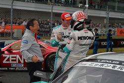GT500 vencedor Kazuki Nakajima, James Rossiter