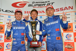 GT500 winners Koudai Tsukakoshi, Toshihiro Kaneishi