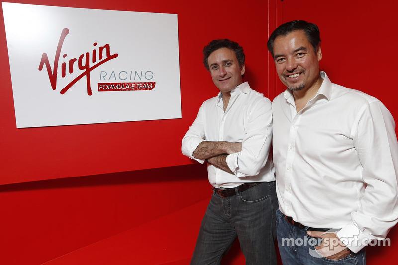 Alex Tai, Virgin Racing en Alejandro Agag, CEO Formula E