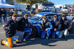 Winners #24 Rotek Racing Audi TT RS: Jeff Altenburg, Robb Holland, Roland Pritzker, Robert Huff