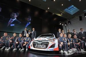 Launch of the Hyundai i20 WRC