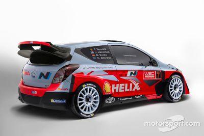 Lanzamiento del Hyundai i20 WRC