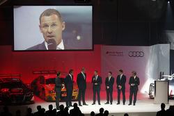 Audi presents its new R18 e-tron