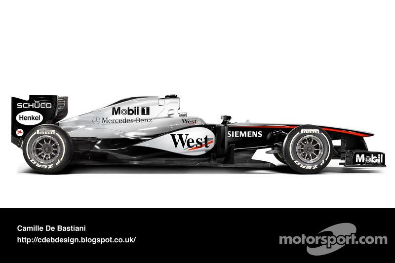 McLaren MP4-20 - 2005