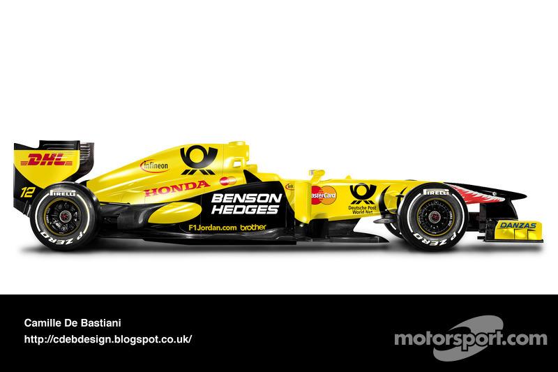 Auto Retro F1 - Jordan 2001