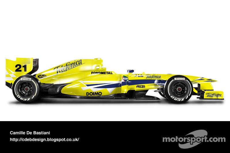 Minardi M02 - 2000