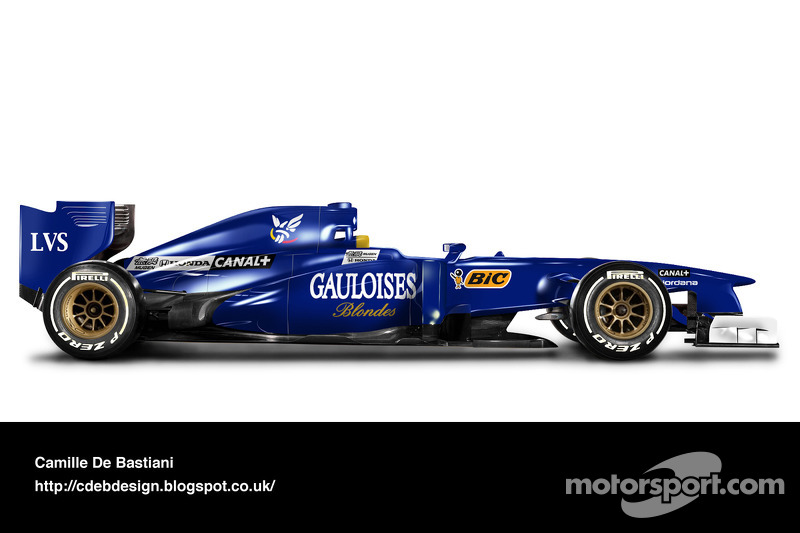 Carro de F1 retrô - Prost 1997