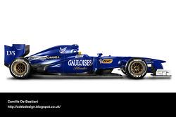 Retro F1 car - Prost 1997