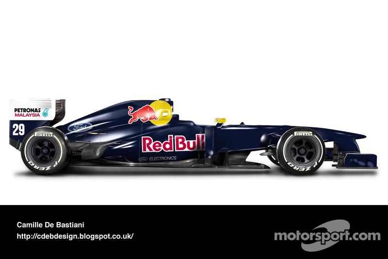 Formel-1-Auto im Retrodesign: Sauber 1995