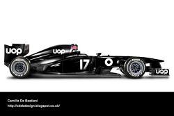 Retro F1 car - UOP Shadow 1975
