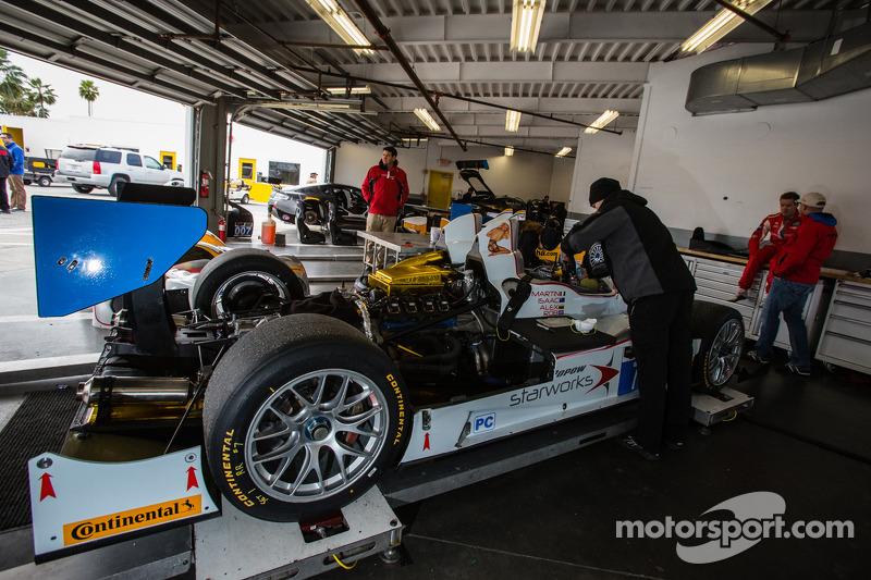 #7 Starworks Motorsport ORECA FLM09 雪佛兰