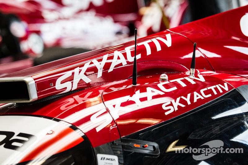 detalhe do #07 SpeedSource Mazda Mazda