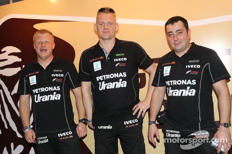 Gerard de Rooy, Tom Colsoul, Darek Rodewald