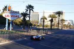 Spark-Renault SRT-01E en Las Vegas Boulevard