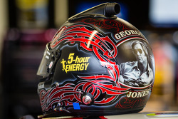 Capacete de Clint Bowyer, Michael Waltrip Racing Toyota