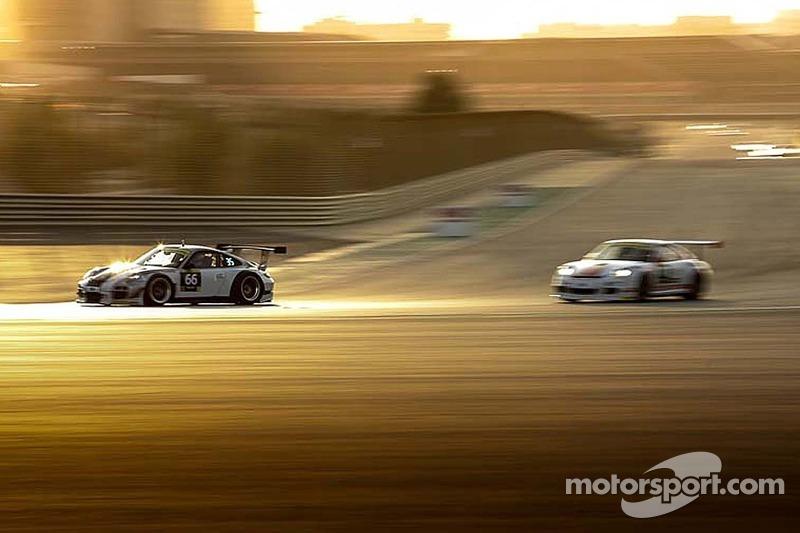 #66 Attempto Racing 保时捷 997 GT3 R: 尤尔根·哈林, 迪米特里斯·康斯坦蒂努, 蒂姆·穆勒, 多米尼克·若斯特, 法比安·通纳