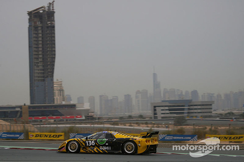 #136 Gravity Racing International Mosler MT 900 GT3: Vincent Radermecker, Andy Ruhan, Loris de Sordi