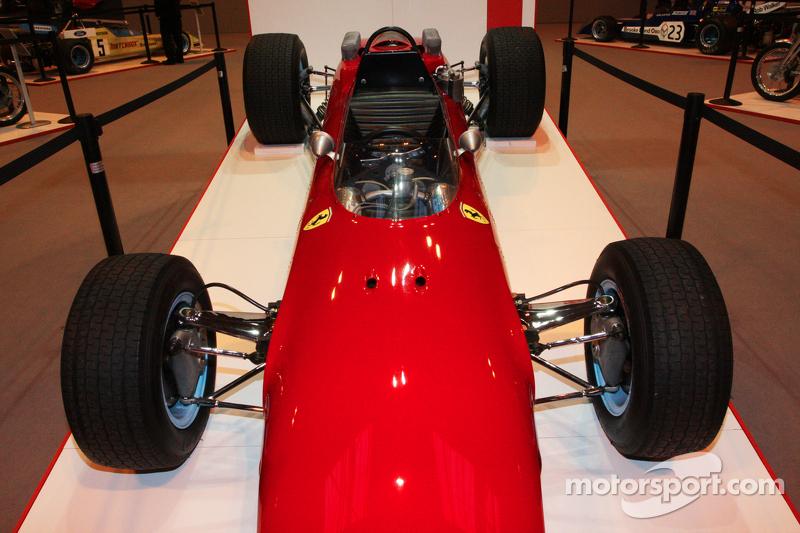 约翰·苏尔提斯赛车展示,法拉利F1赛车