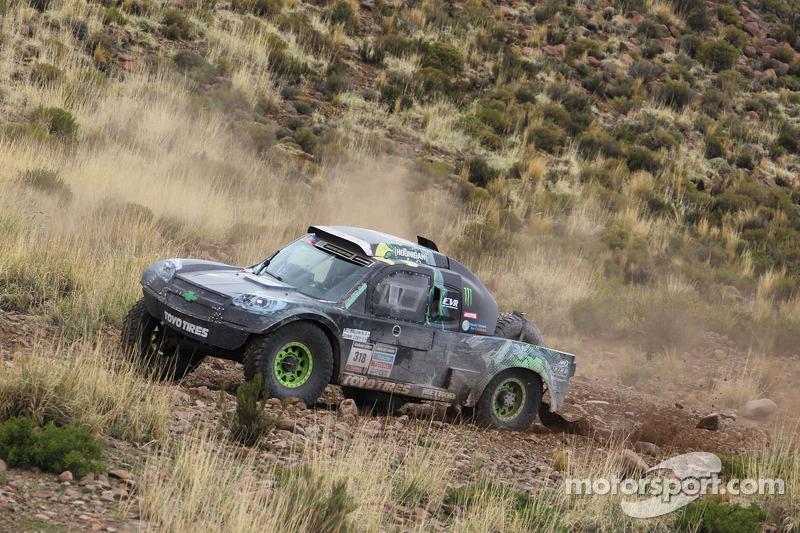 #318 Chevrolet: B.J. Baldwin, Quinn Cody