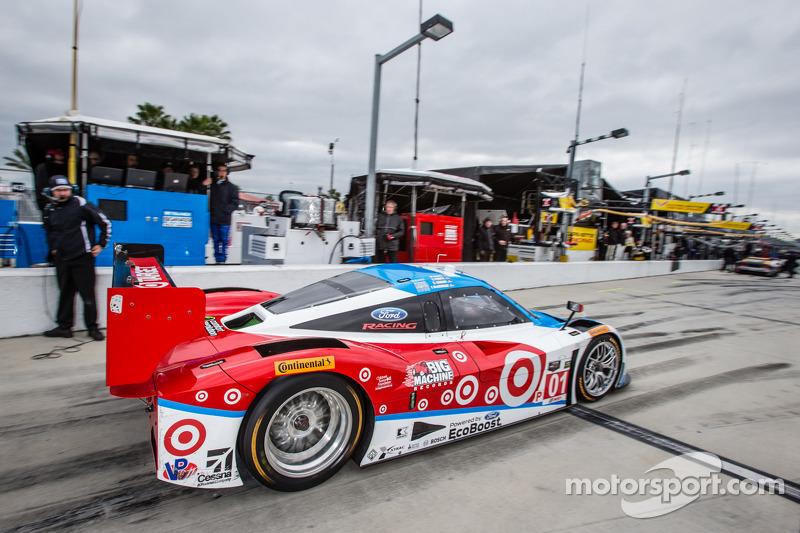 #01 Chip Ganassi Racing Riley DP 福特 EcoBoost: 斯科特·普鲁厄特, 梅莫·罗哈斯, 杰米·麦克穆里, 塞奇·卡拉姆
