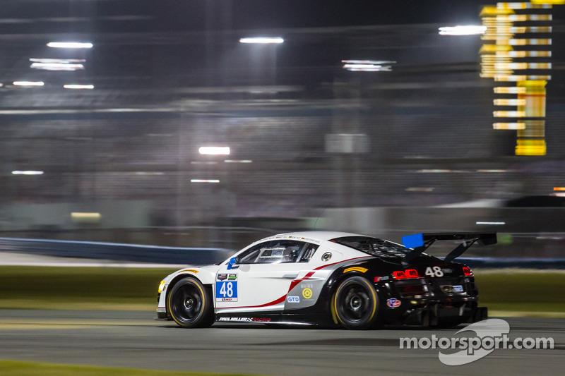 #48 Paul Miller Racing Audi R8 LMS: Bryce Miller, Matt Bell, René Rast, Christopher Haase