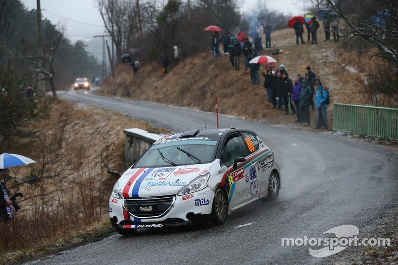 Gabriele Cogni ve Silvia Mazzetti, Peugeot 209