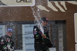 Vencedores da categoria carro: #304 Mini: Nani Roma, Michel Perin