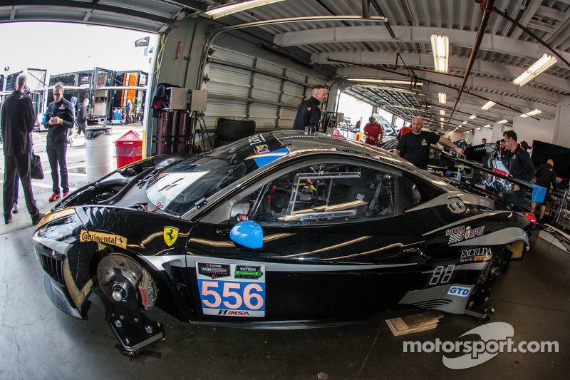 #556 Level 5 Motorsports 法拉利 458 Italia