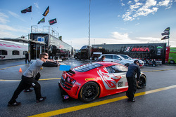 #45 Flying Lizard Motorsports Audi R8 LMS