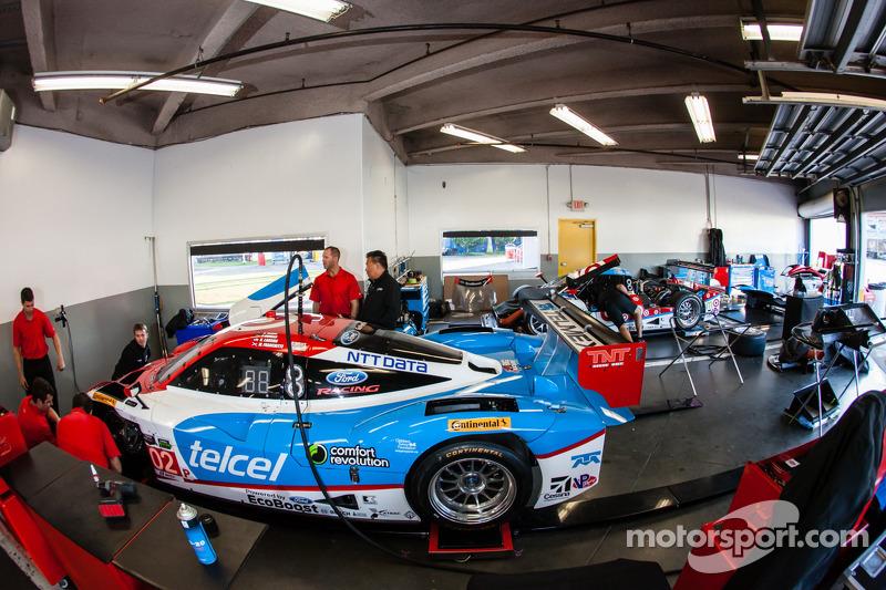 Chip Ganassi Racing garaj alanı