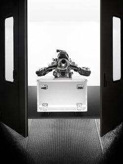 El motor V6 de Renault F1 2014