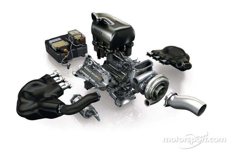 محرك رينو في6 2014 للفورمولا واحد