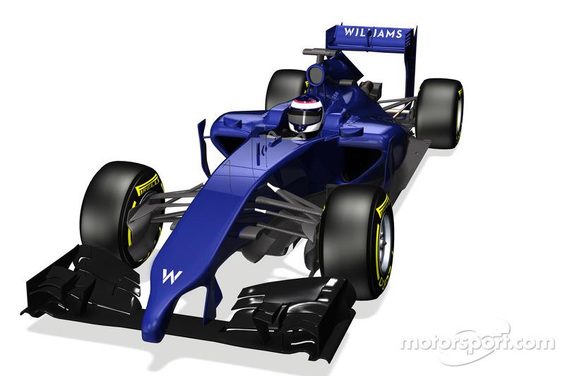 Yeni Williams F1 FW36