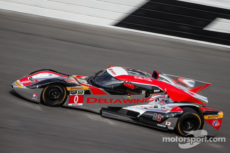 #0 DeltaWing Racing Cars DeltaWing DWC13 Elan: Andy Meyrick, Katherine Legge, Alexander Rossi, Gabby Chaves