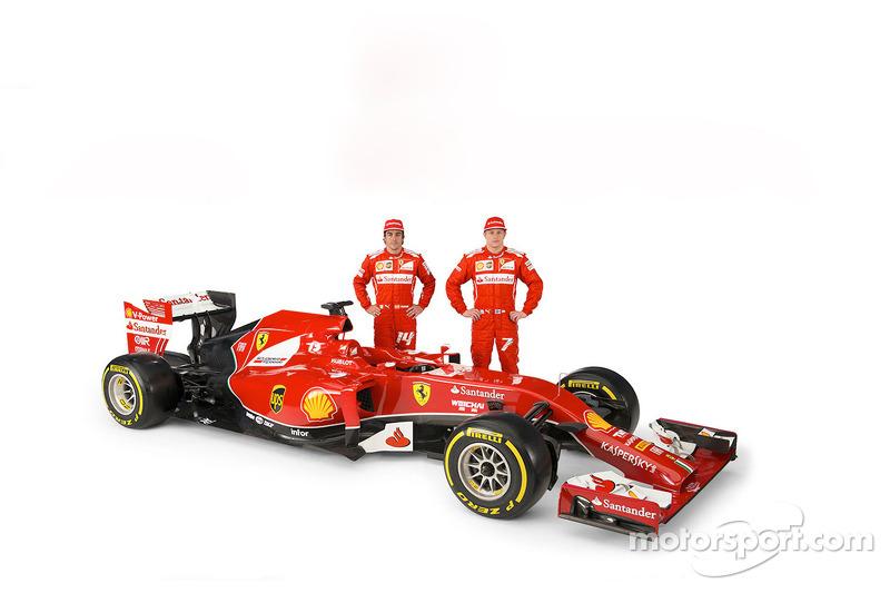 Фернандо Алонсо, Кімі Райкконен, Ferrari F14 T