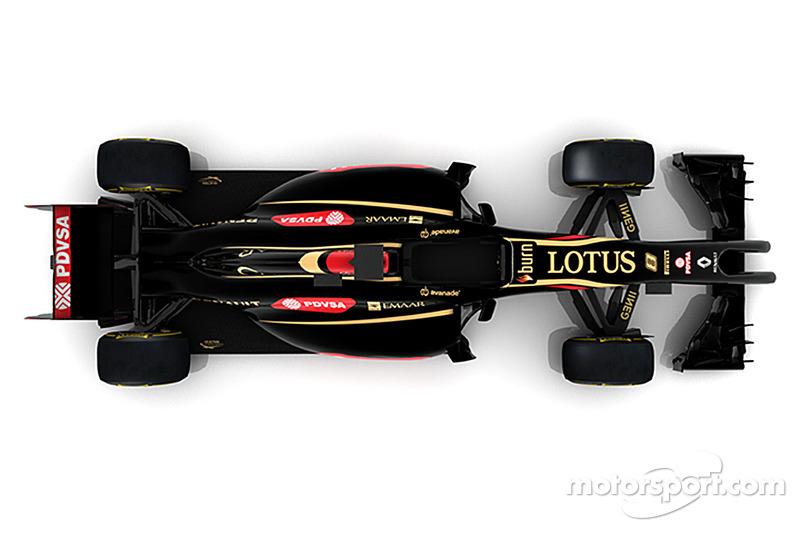Lotus F1 E22 2014 року