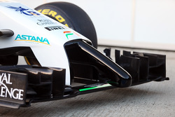 Sahara Force India F1 VJM07 ala delantera y nariz