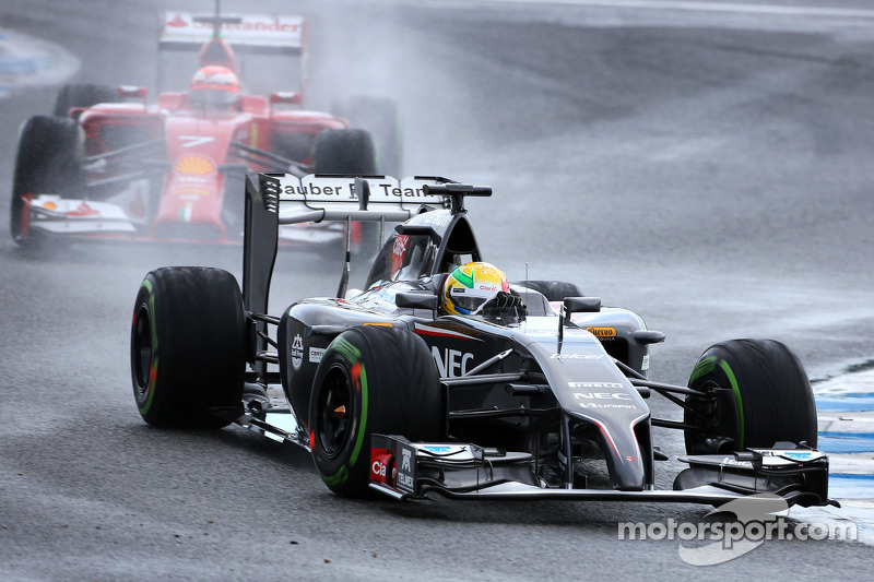 Esteban Gutierrez, Sauber F1 Takımı ve Kimi Raikkonen, Scuderia Ferrari