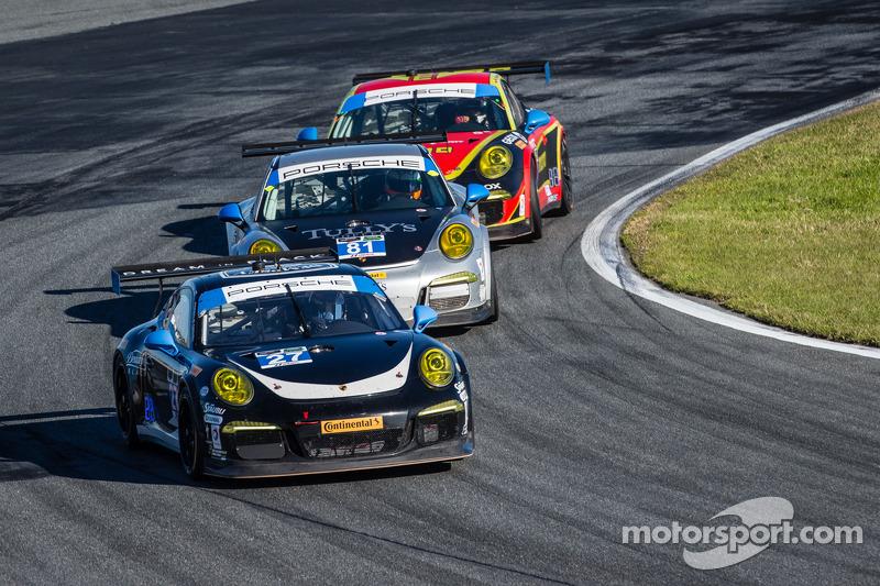 #27 Dempsey Racing Porsche 911 GT America: Patrick Dempsey, Joe Foster, Andrew Davis, Marc Lieb, #81