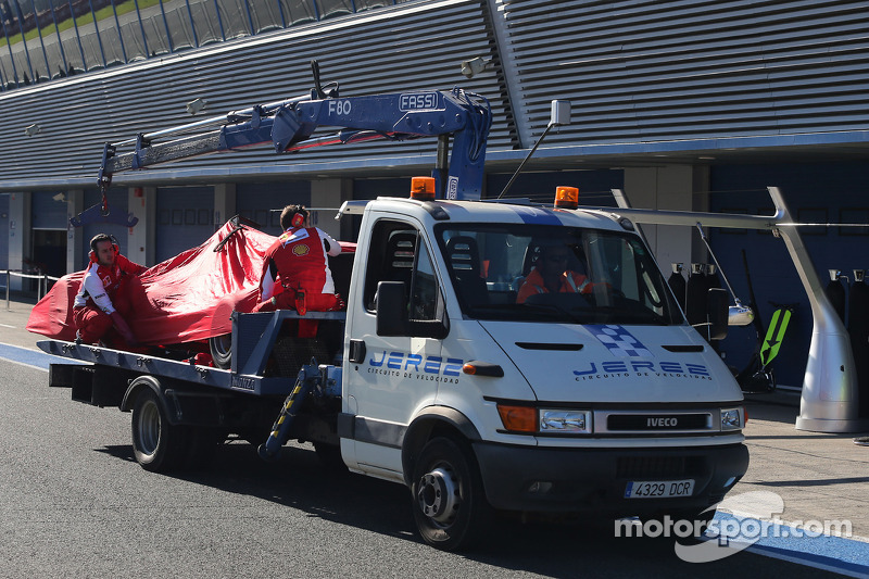 Fernando Alonso, Scuderia Ferrari pistte duruyor