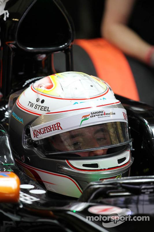 Daniel Juncadella, piloto reserva da Sahara Force India F1 Team VJM07