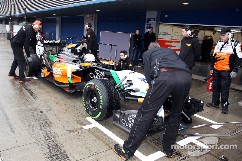 Daniel Juncadella, Sahara Force India F1 VJM07 Test ve Yedek Pilotu pitte