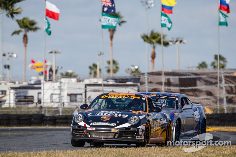 #12 Bodymotion Racing Porsche 997: Andrew Baxter, Shane Lewis